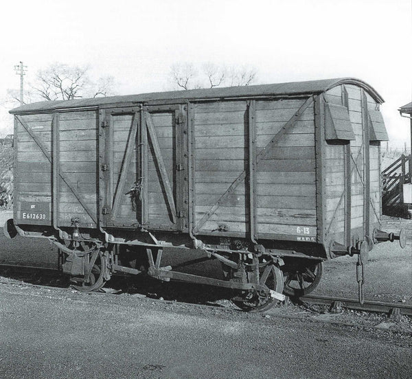 Oxford Rail BR GER 10T Covered Van E612630