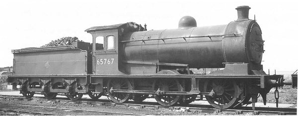 Oxford Rail BR Early 0-6-0 Class J26 65767 Sound Fitted