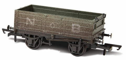 Oxford Rail Weathered North British - 4 Plank Mineral Wagon