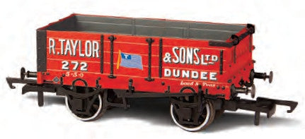 Oxford Rail R Taylor and Sons Ltd 4 Plank Wagon