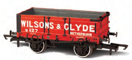 Oxford Rail Wilsons and Clyde 4 Plank Wagon
