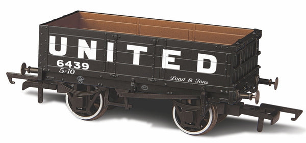 Oxford Rail United Coliieries 5439 4 Plank Wagon