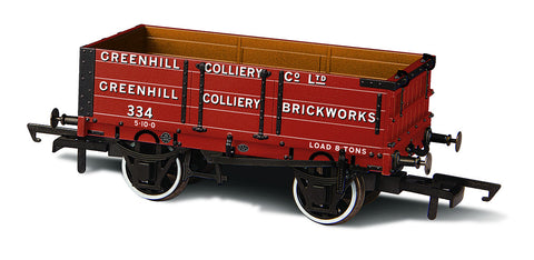 Oxford Rail 4 Plank Mineral Wagon Greenhill Colliery No 334
