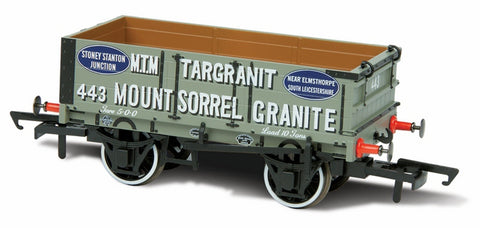 Oxford Rail Mount Sorrell Granite 443 Mineral Wagon 4 Plank