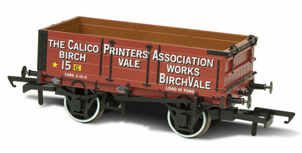 Oxford Rail Calico Printers Assn 15 Mineral Wagon 4 Plank