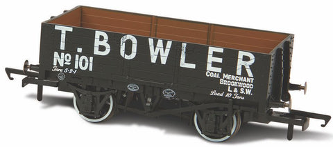 Oxford Rail T Bowler London No101 5 Plank Mineral Wagon