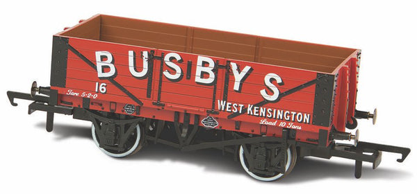Oxford Rail Busbys West Kensingtin No16 5 Plank Mineral Wagon
