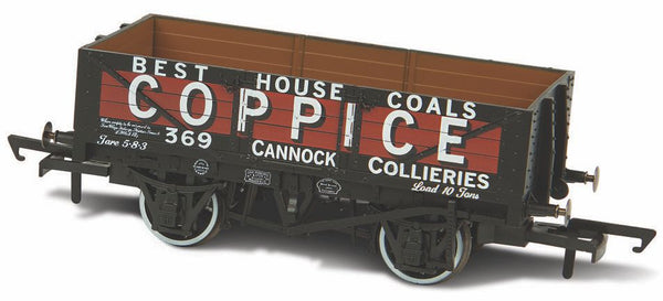 Oxford Rail Coppice - Cannock Chase No369 5 Plank Mineral Wagon