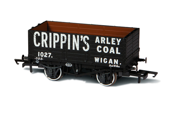 OXFORD RAIL 1027 Crippins Arley Coal Wagon - 1:76 Scale
