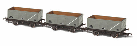 Oxford Rail 3 Piece Set BR Grey Wagons P73208/P153057/P201347