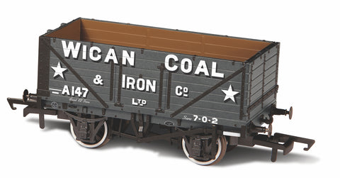 Oxford Rail 7 Plank Wagon Wigan Coal & Iron Co A147