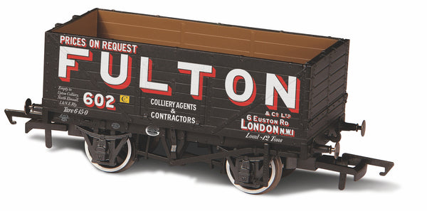 Oxford Rail 7 Plank Wagon Wigan Fulton 602
