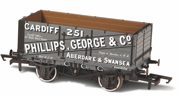 Oxford Rail 7 Plank Wagon George & Co 251