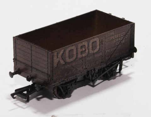 Weathered Kobo 7 Plank Wagon Open