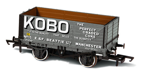 Oxford Rail 7 Plank Mineral Wagon Kobo No15