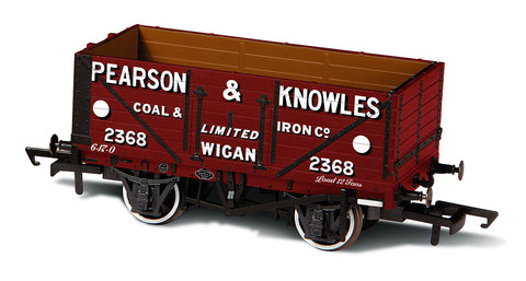 Oxford Rail 7 Plank Mineral Wagon Pearson & Knowles