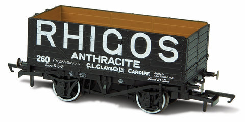 Oxford Rail Rhigos Anthracite Cardiff No 260 - 7 Plank