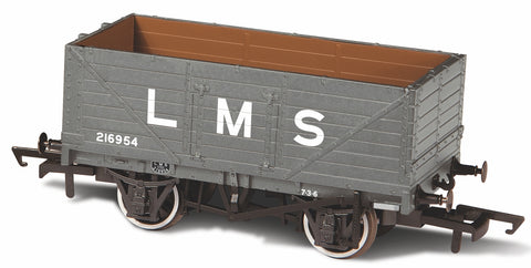 Oxford Rail 7 Plank Mineral Wagon LMS216954