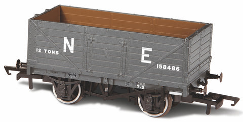 Oxford Rail 7 Plank Mineral Wagon NE158646