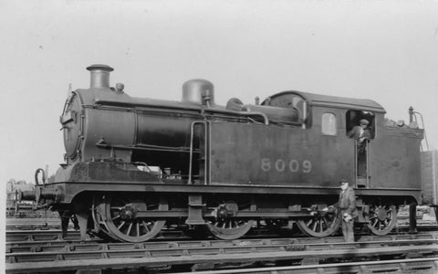 Oxford Rail LNER N7 0-6-2 No 8011