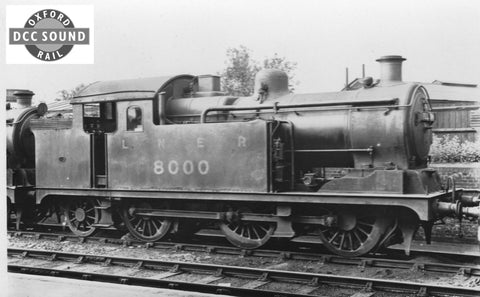 Oxford Rail BR (early BR) N7 0-6-2 No E9621 DCC Sound