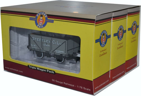 3 Pack Wagon Set Set - Private Owner Wagons