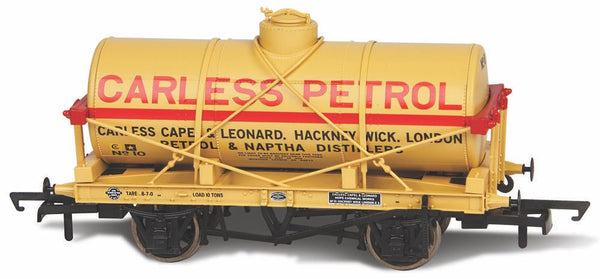 Oxford Rail Carless Naptha No10 Fuel Oil Tank Wagon 12 Ton