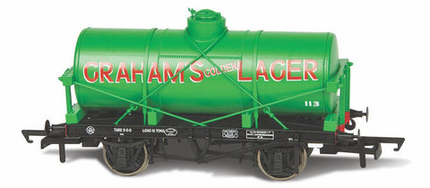 Oxford Rail Grahams Golden Lager No113 12 Ton Tank Wagon