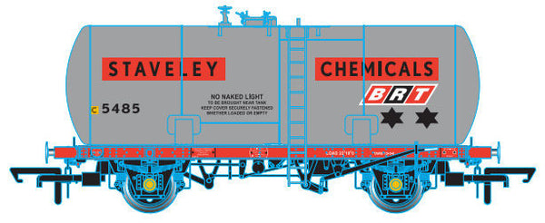 Oxford Rail Class A Tank BRT - Staveley Chemicals Class A 5485