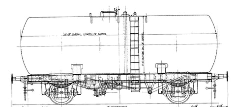 Oxford Rail Class A Tank Esso 4022 Class A Revised Suspension