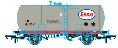 Oxford Rail Class A Tank Esso 4022 Class A Original Suspension