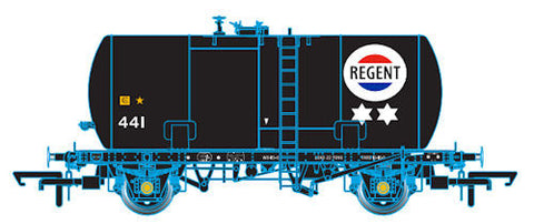 Oxford Rail Class B Tank Regent Class B Revised Suspension 441