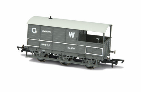Oxford Rail GWR Toad Brake GWR 6 Wheel Planked early Swindon
