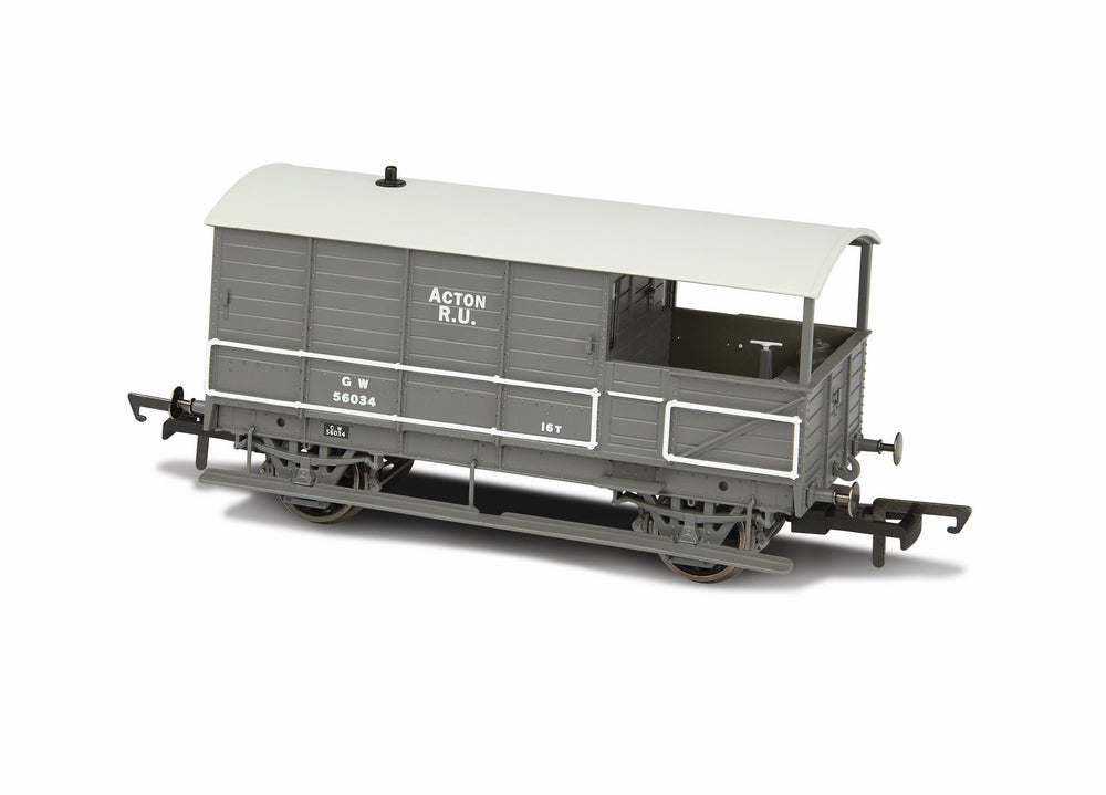Oxford Rail Gwr 4 Wheel Plated (late) Acton 56034