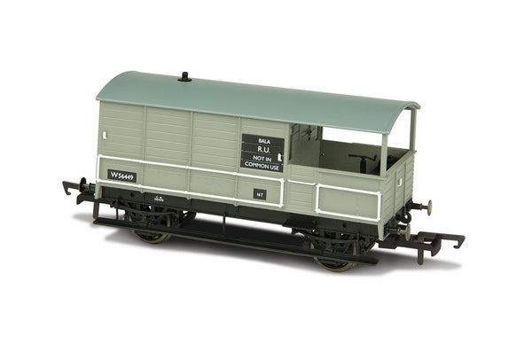 Oxford Rail BR Toad 4 Wheel Bala 56449