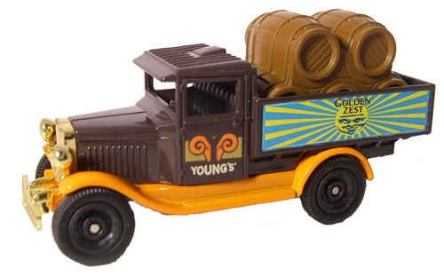 Oxford Diecast Youngs Gold Zest