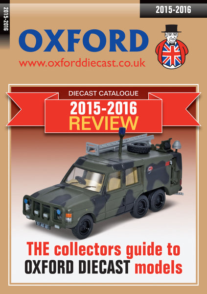 Oxford Diecast Review 2016