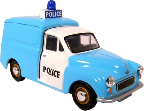 Oxford Diecast Morris Minor Police - 1:43 Scale