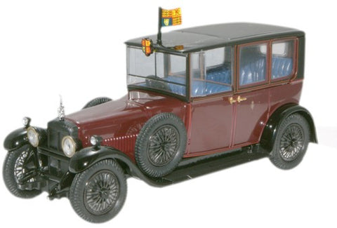 Oxford Diecast King George V (Sandringham) 1929 Daimler - 1:43 Scale