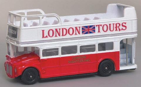 Oxford Diecast London Tours Open - 1:76 Scale