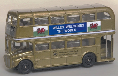 Oxford Diecast Golden Jubilee Wales - 1:76 Scale