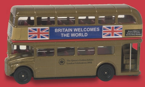 Oxford Diecast Golden Jubilee Bus - 1:76 Scale