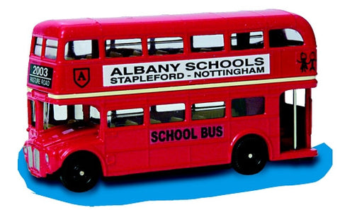 Oxford Diecast Albany School - 1:76 Scale