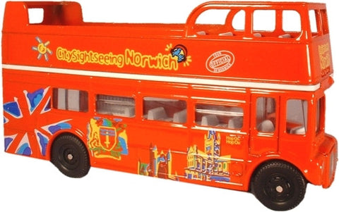 Oxford Diecast Norwich City Sightseeing - 1:76 Scale