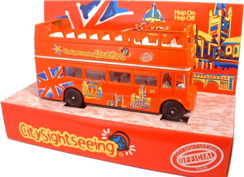 Oxford Diecast Stratford City Sightseeing - 1:76 Scale