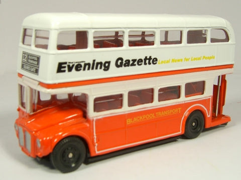 Oxford Diecast Blackpool Bus - 1:76 Scale
