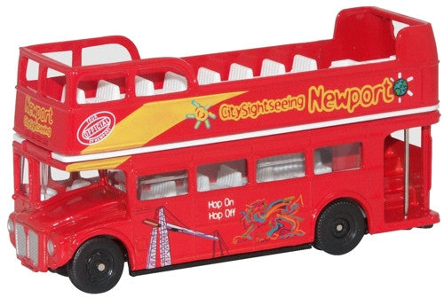 Oxford Diecast Newport Bus - 1:76 Scale