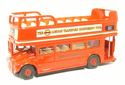 Oxford Diecast Open Top Bus London Sightseeing - 1:76 Scale