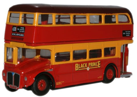 Oxford Diecast AEC Routemaster Black Prince - 1:76 Scale