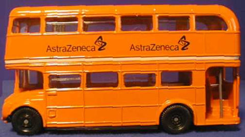 Oxford Diecast Astra Zeneca Bus - 1:76 Scale